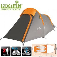 Двухместная палатка Norfin Roxen 2 Alu